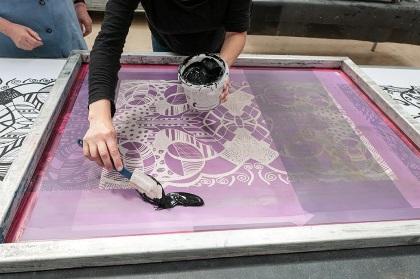 zeefdrukken inkt